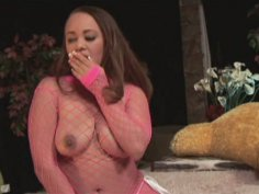 Chubby ebony chick Mone Devine gives head and gets poked by BBC