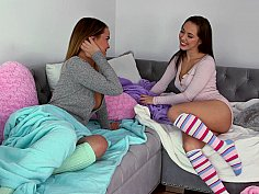 Pillow fight turns steamy