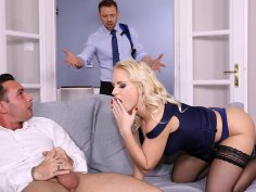 Cheating wife gets a surprise