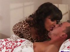 Lisa Ann and Jade Nile caught in a hot threesome with a lucky stud