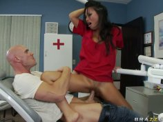 Asa Akira gets fucked with her dentist