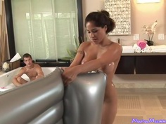 An appointment at the Nuru massage